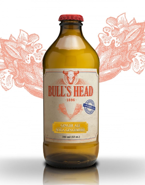 Bull's Head ginger ale