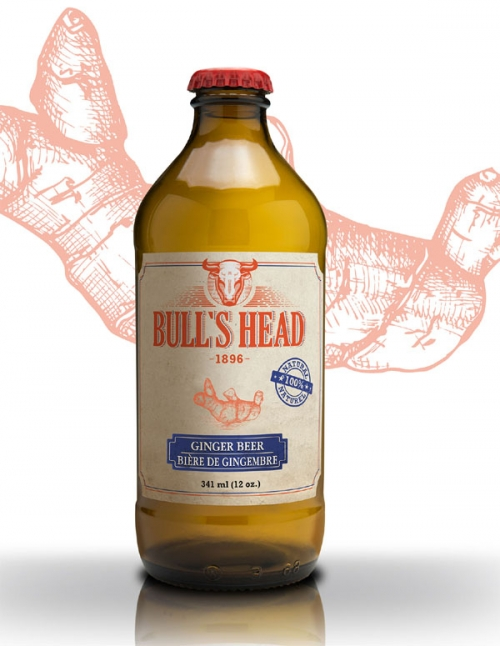 Bull's Head ginger beer