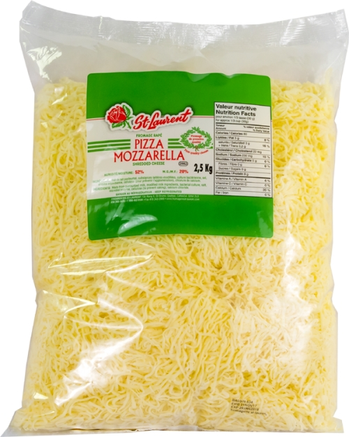 St-Laurent grated mozzarella