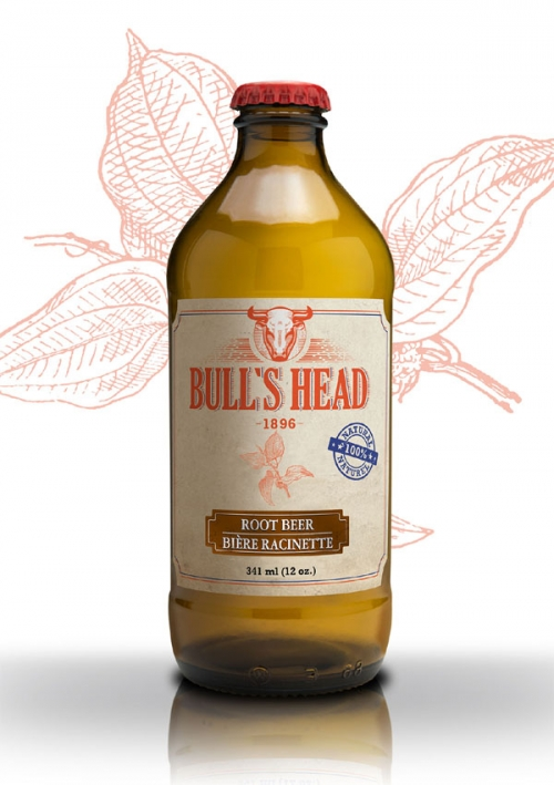 Bull's Head root beer